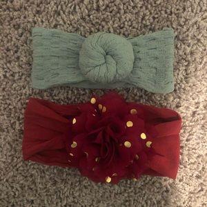 Baby bling - baby girl headbands - 2 for $10